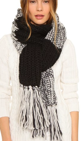 Bickley + Mitchell Fringe Scarf