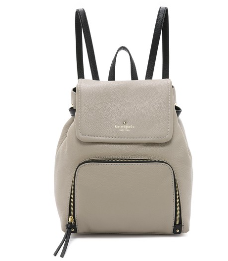 Kate Spade mini leather backpack