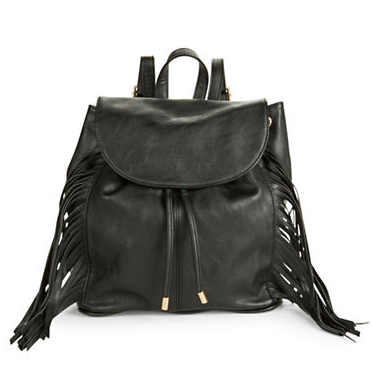 Kenzie small fringe backpack