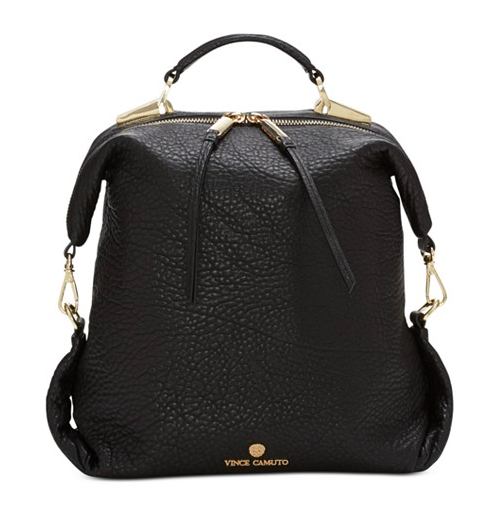 Vince Camuto small leather backpack