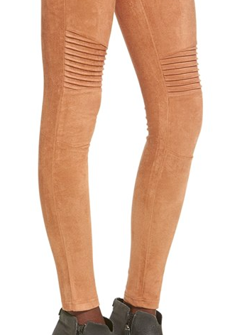Minkpink faux suede leggings
