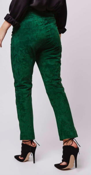 Topshop suede trousers