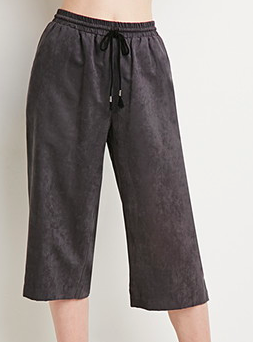 Forever 21 suedette culottes