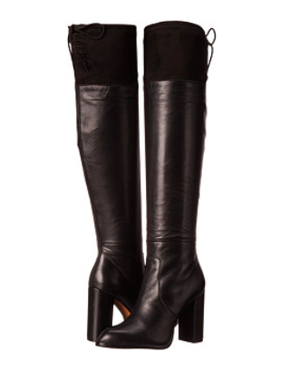 French Connection over the knee boots