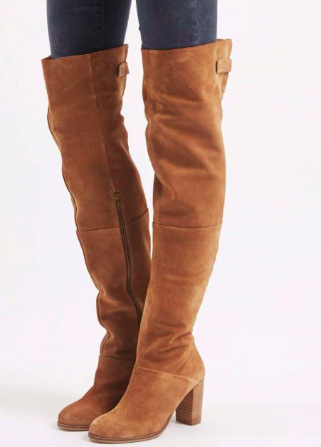 Topshop BELL Thigh High Boots