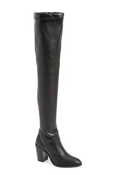Topshop commander over the knee boots