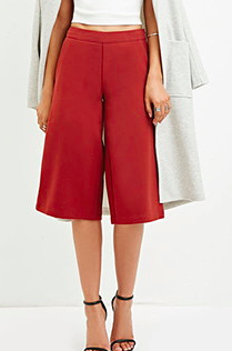 Forever 21 classic culottes
