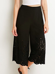 Forever 21 cut out culottes
