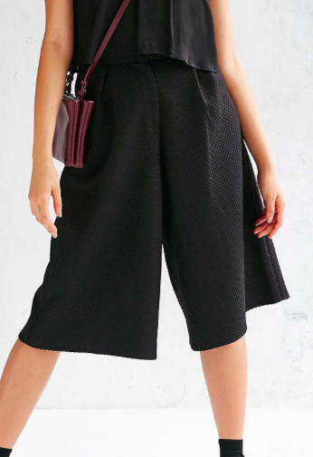 Urban Outfitter jacquard culottes