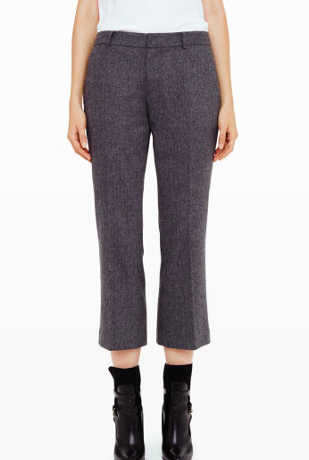 Club Monaco grey culottes