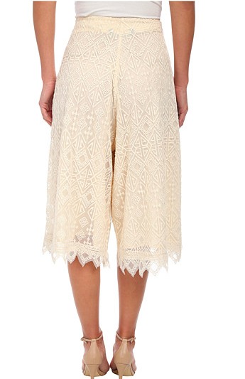 KAS New York Bedri Embroidered Culotte
