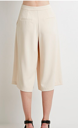 Forever 21 wide leg culottes
