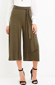 Forever 21 knit culottes