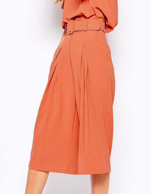 Lost ink culottes