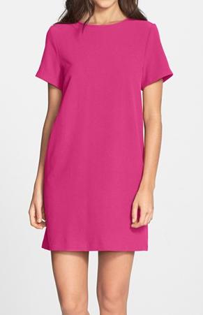 FELICITY & COCO Crepe Shift Dress