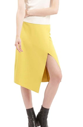 Topshop bright wrap skirt
