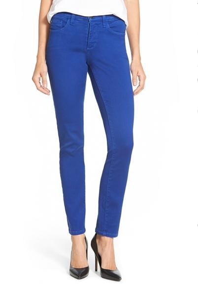 NYDJ 'Alina' Colored Stretch Skinny Jeans