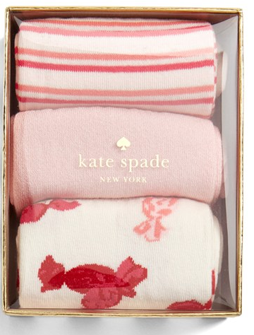 Kate Spade New York sock set