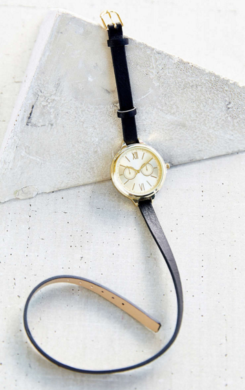 UO double strap watch