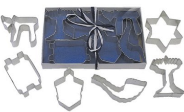 Hanukah cookie cutters