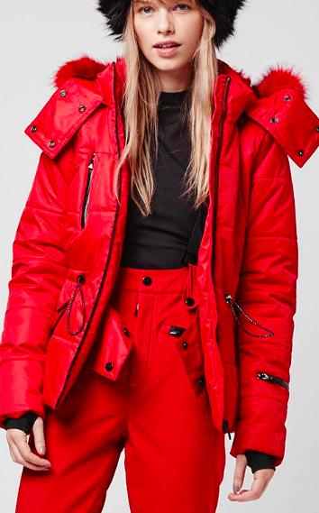 Topshop SNO Panelled Puffa Jacket