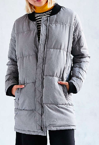 Native Youth Landscape Quilted Coat