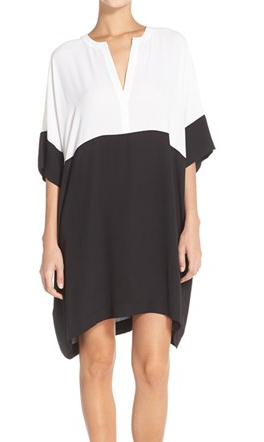 BCBGMAXAZRIA 'Inessa' Colorblock Shift Dress