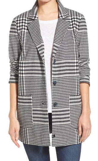 Treasure&Bond Plaid Cotton Jacket