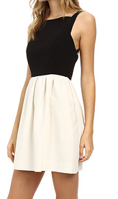 JILL JILL STUART Piper Color Blocked Dress