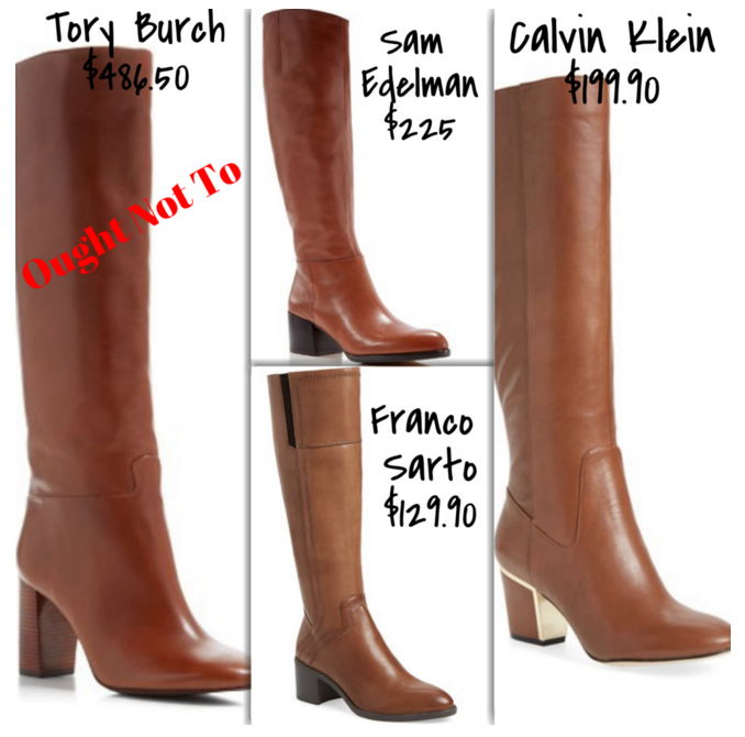 Affordable Knee High Boots | TrufflesandTrends.com