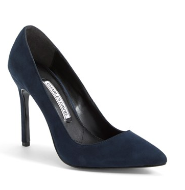 Charles David suede pumps