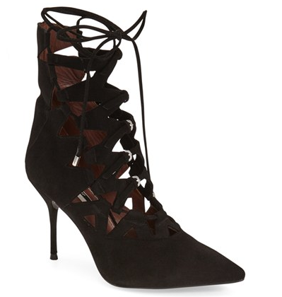 Topshop lace up pumps