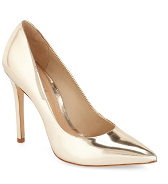 Schutz metallic pumps