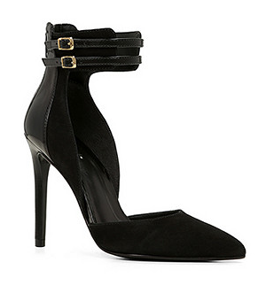 Aldo ankle strap pumps