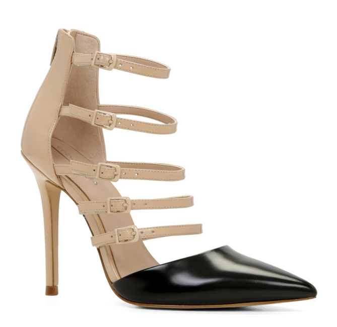 Aldo strappy buckled pumps