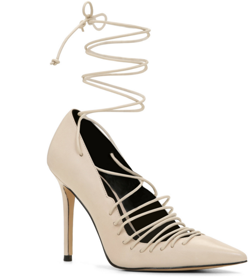 Aldo lace up pumps
