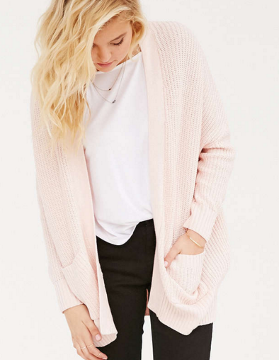Urban Outfitters pink cardigan