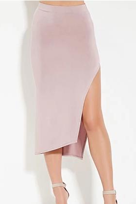 Forever 21 pastel midi skirt