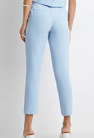 Forever 21 baby blue trousers