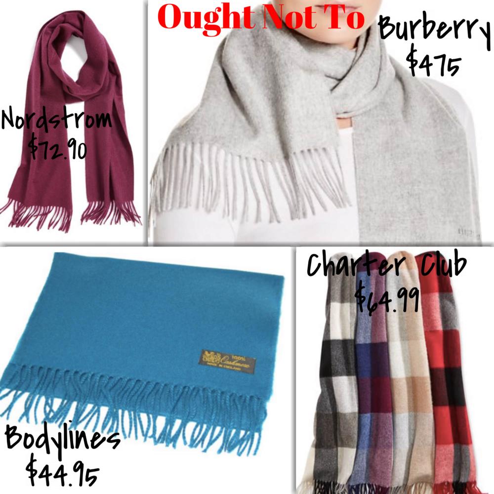 Affordable Cashmere Scarves | TrufflesandTrends.com