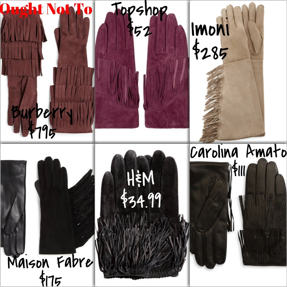 Affordable Suede Gloves | TrufflesandTrends.com