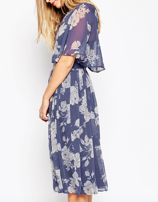 ASOS WEDDING Soft Rose Print Bolero Co-Ord
