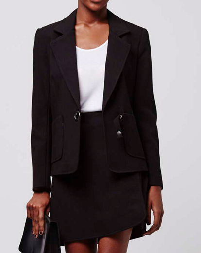 Topshop blazer and skirt set