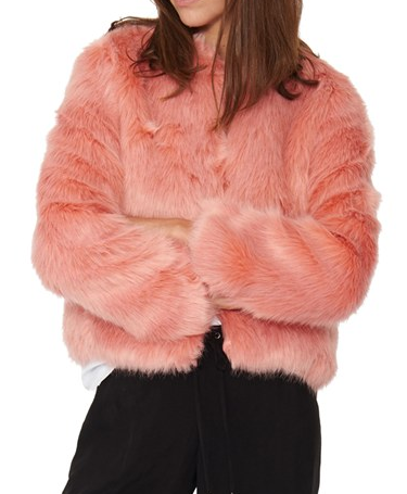 n:PHILANTHROPY 'Heather' Faux Fur Jacket
