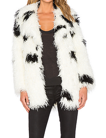 FAUX FUR CURL JACKET CHEAP MONDAY