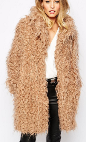 Supertrash Orson Shaggy Coat