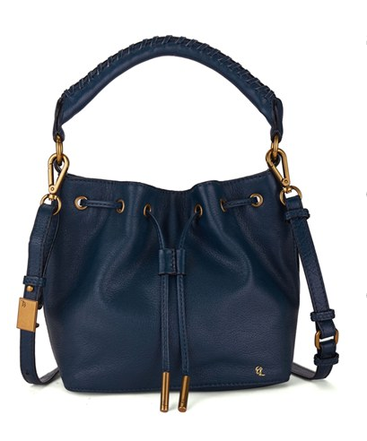Elliott Lucca 'Gigi Bon Bon' Leather Bucket Bag