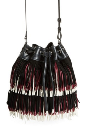 Sam Edelman 'Mini Fifi' Fringe Bucket Bag