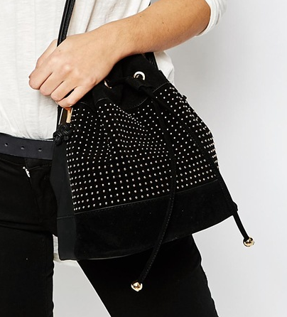 New Look Pin Stud Duffle Bag
