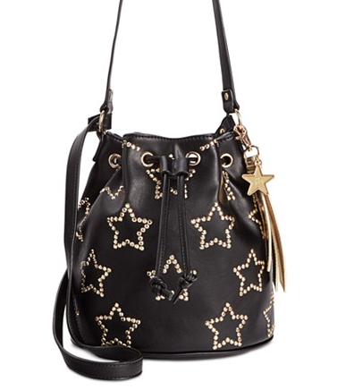 Betsey Johnson Star Bucket Bag